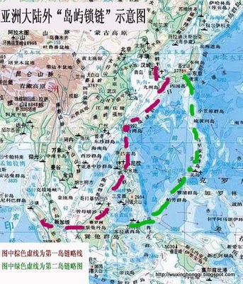 from the us military has completed encircling china for implementing to attack china from land and sea at the same time china military report jan