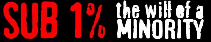 SUB 1%