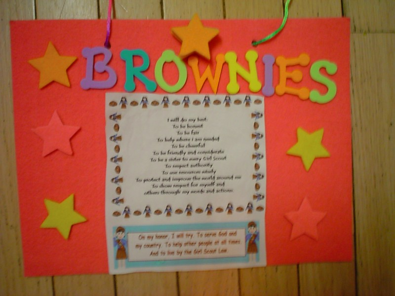 Girl Scout Meeting Ideas For Brownies