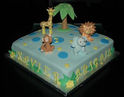 The Cake-Up Artists: Safari Birthday Cake