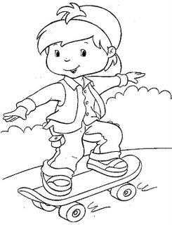 Desenho Skate
