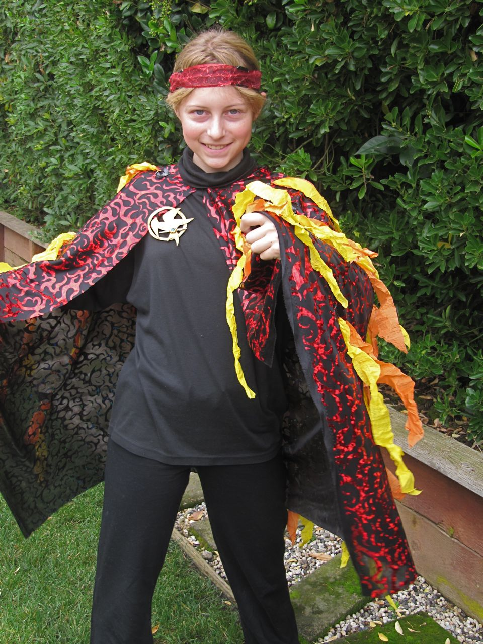 A decade of halloweens katniss the girl on fire from the hunger the other important accessory was the gold mockingjay pin which katniss is given by a friend back home and wears throughout the games and which acquires buycottarizona Gallery