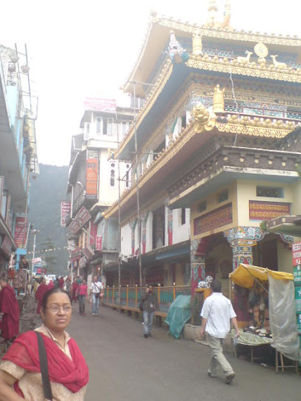 Budha temple in mcleodganj