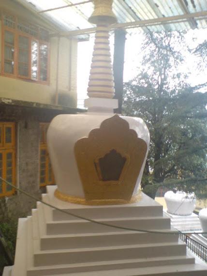Inside Dalai lama temple