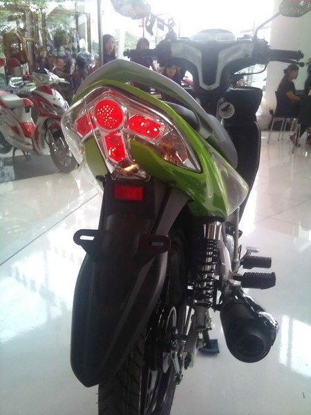 2010 New Yamaha Jupiter Z