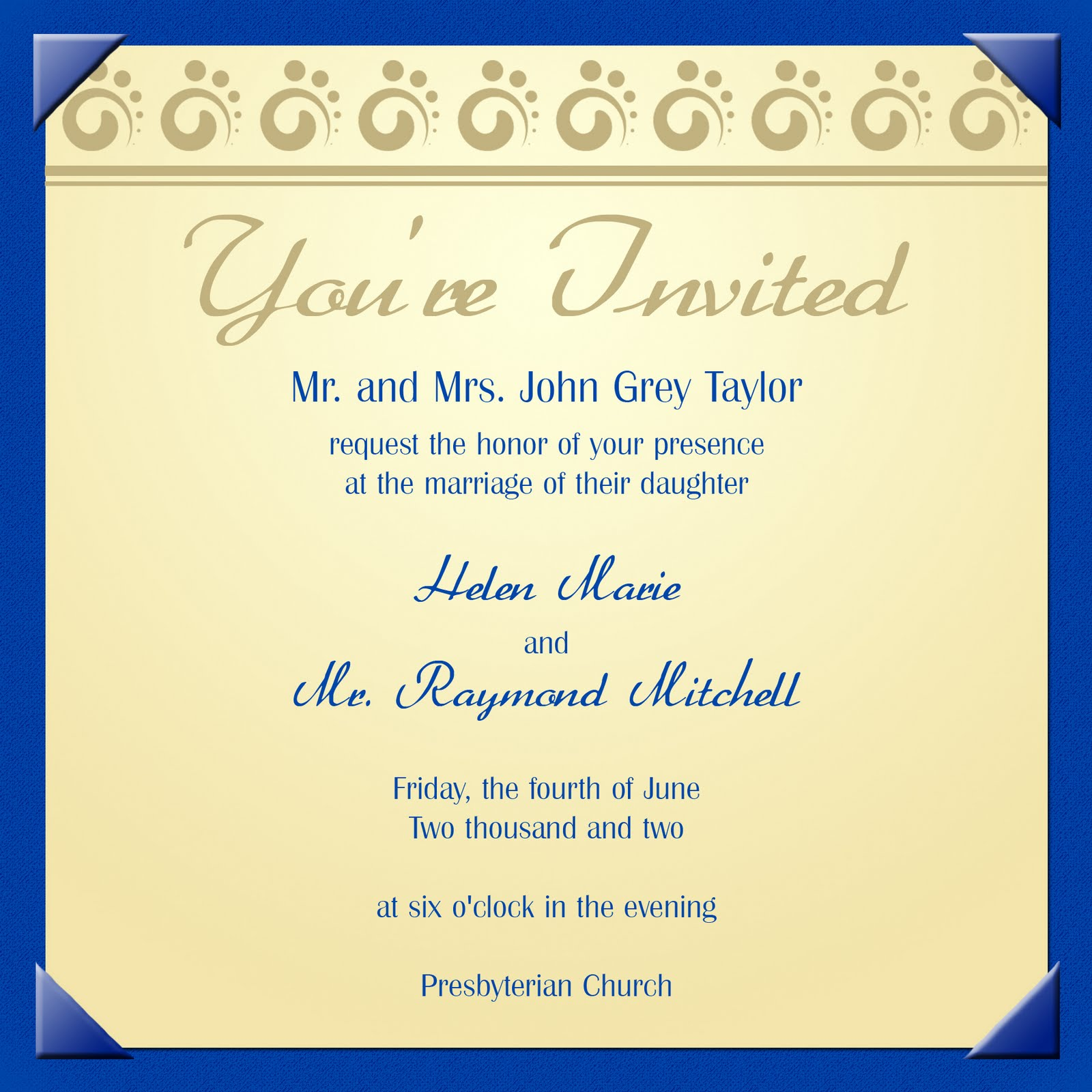 Invitation Card For Farewell Party To Teachers | purplemoon.co