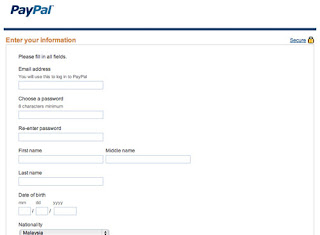 How To Register Paypal 4
