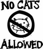 No Cats Please