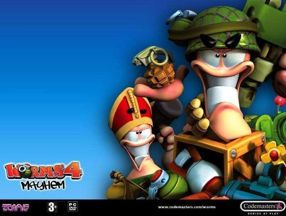 Worms 4 Mayhem Full Version Free