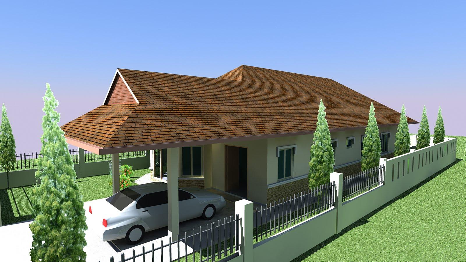 Pelan Rumah Idaman Anda Plan Bungalow Home...