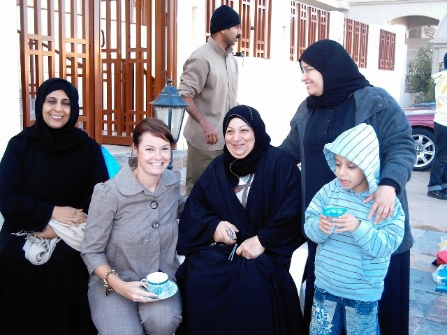 Tea with Kuwaiti women