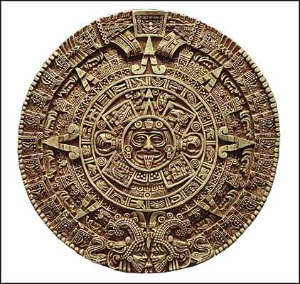 want to emphasize that the Mayan Scared Calendar, as well as the Aztec ...