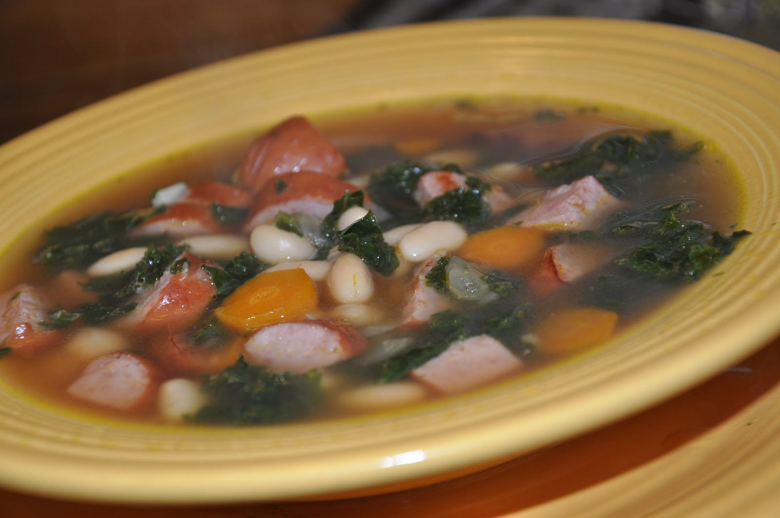 kale sausage potato and kale soup turkey sausage kale and white bean ...