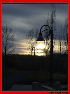 Sun set Lamp in Bend Oregon
