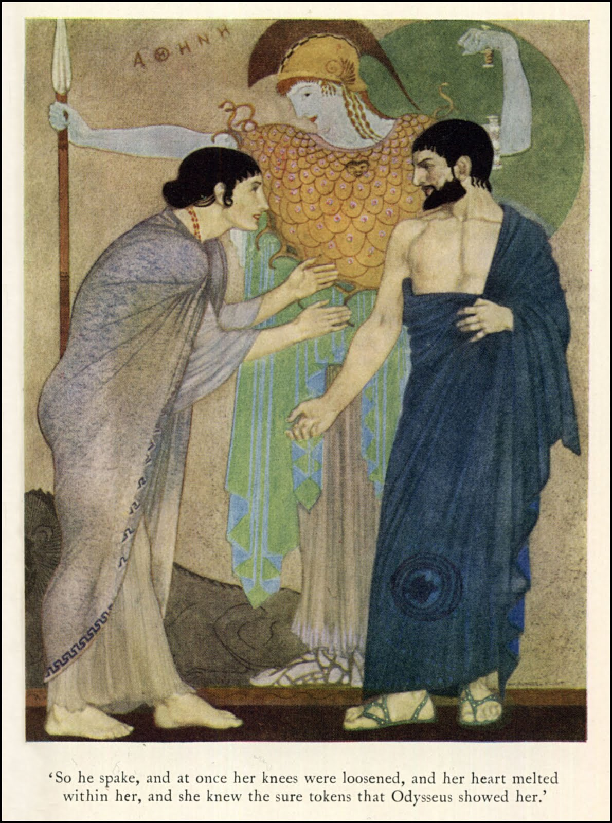the qualities of odysseus and penelope from the odyssey applied in the princes bride
