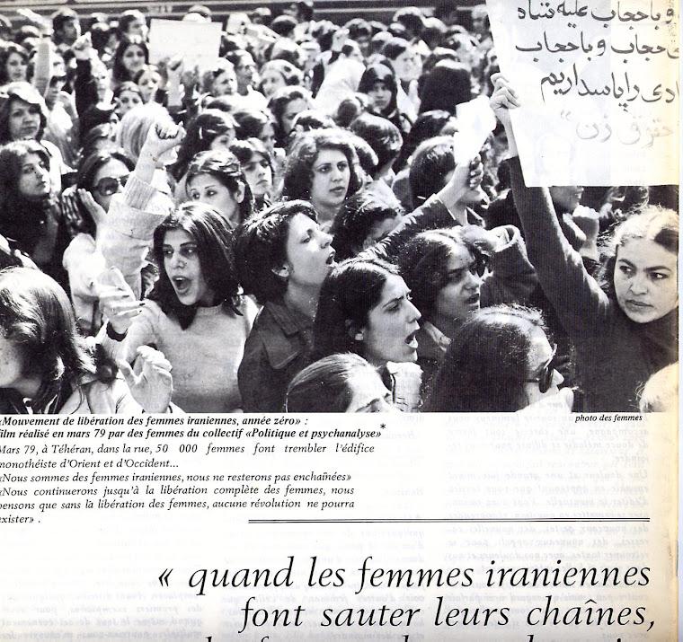 mouvement des femmes Iraniennes
