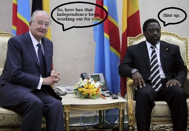 The Mad Monarchist Belgian King In The Congo - Congo independence day