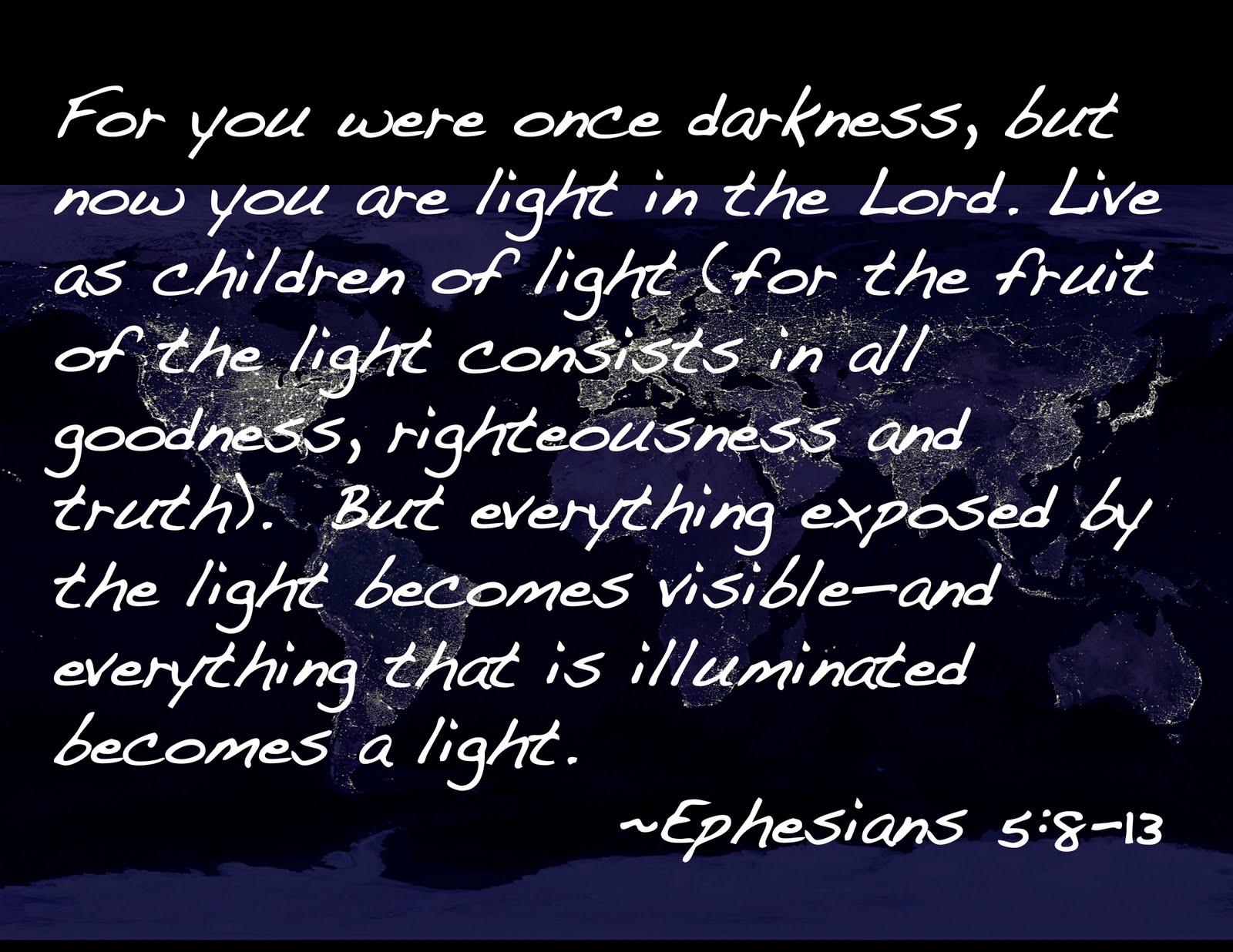 jesus dust light as a biblical metaphor pt 2