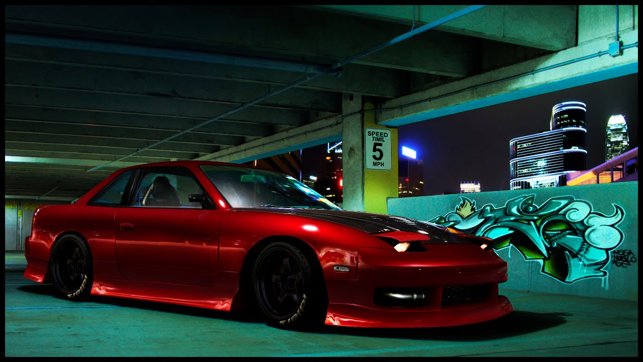 Modified Nissan 200sx