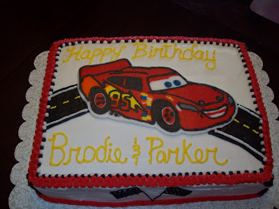 Lightning Mcqueen Sheet Cake I made lightening mcqueen