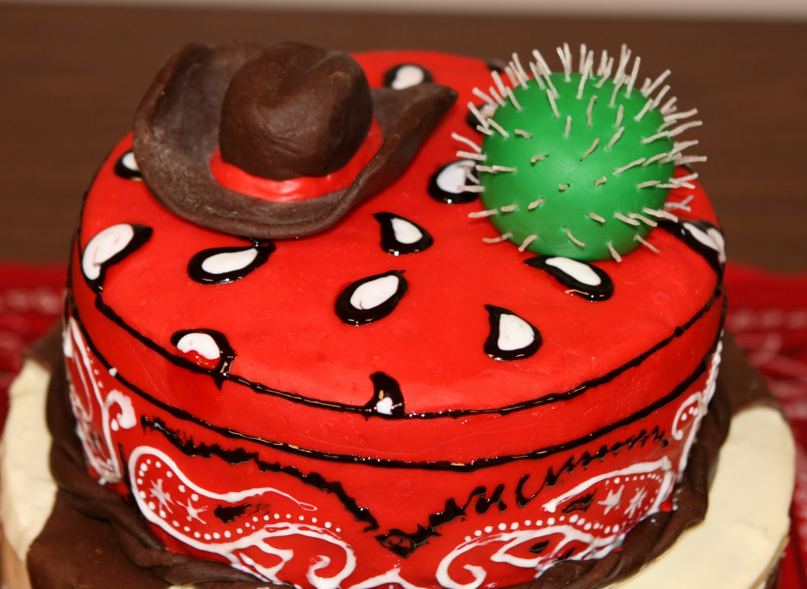 Western Cake Ideas and Designs