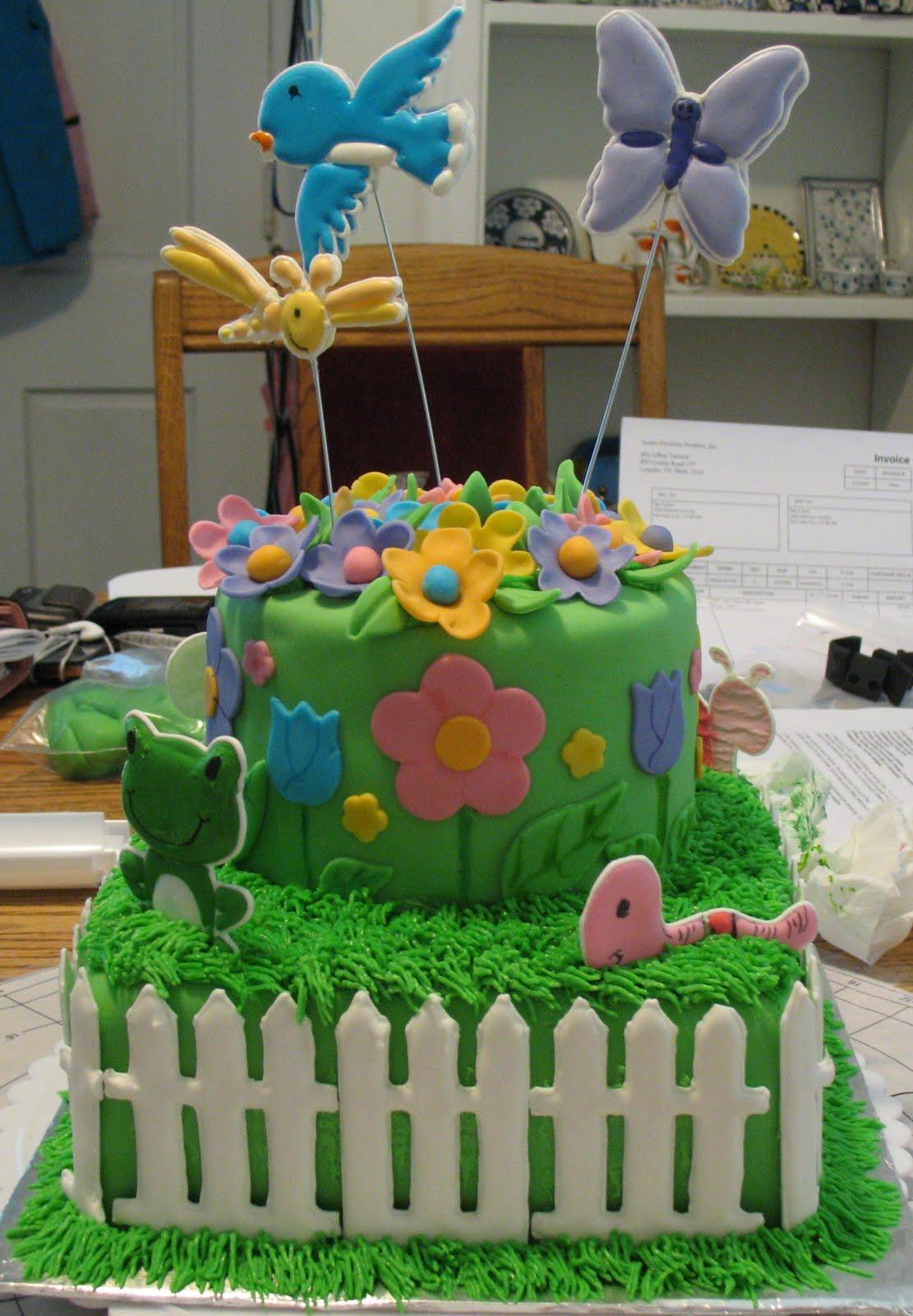 J's Cakes: The Garden Cake