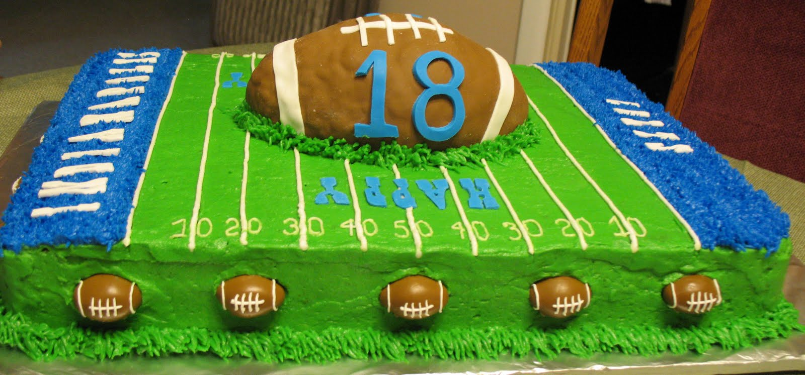 Football Cake Decorating Ideas