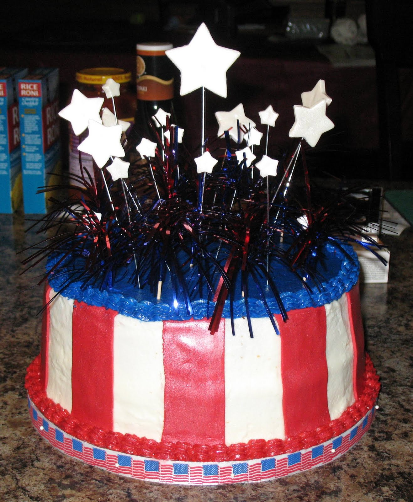 Js Cakes 4th Of July Birthday Cake