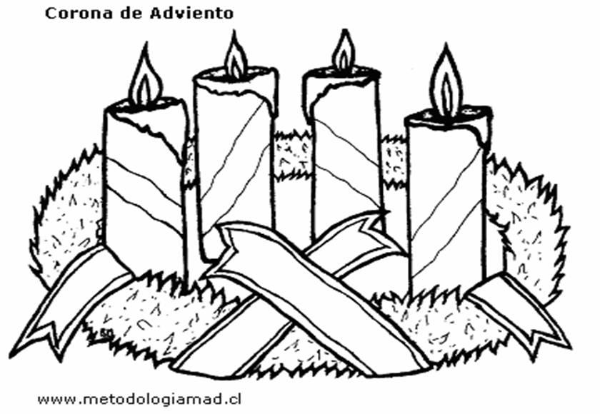 SANTA TERESA DE JESUS: DIBUJOS PARA COLOREAR ADVIENTO