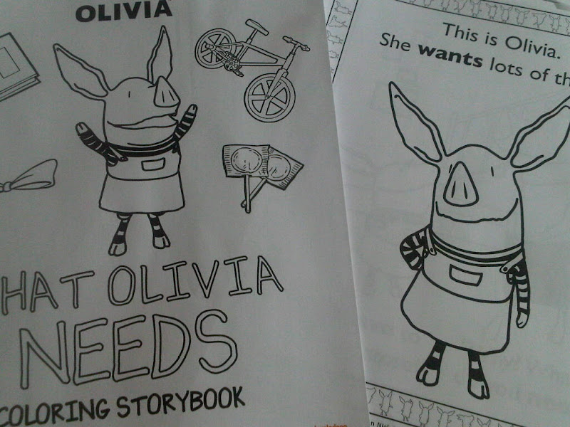 nick jr coloring pages olivia - photo#20