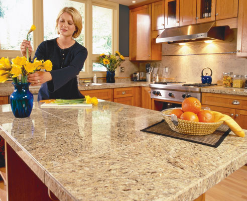 House construction in india kitchens countertop materials for Best material for kitchen counters