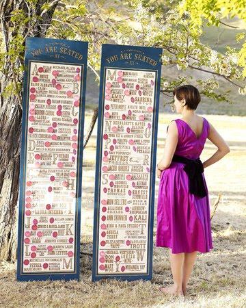 Vineeta S Blog Wedding Seating Chart The Seating Board Was Made