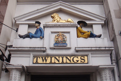 A tale of two cities royal warrants for Door 4 harrods