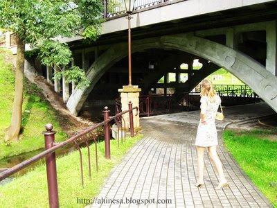 швейцарская долина в Гродно, мост