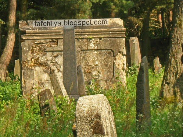 старое еврейское кладбище в Гродно, кладбище, могилы, надгробия