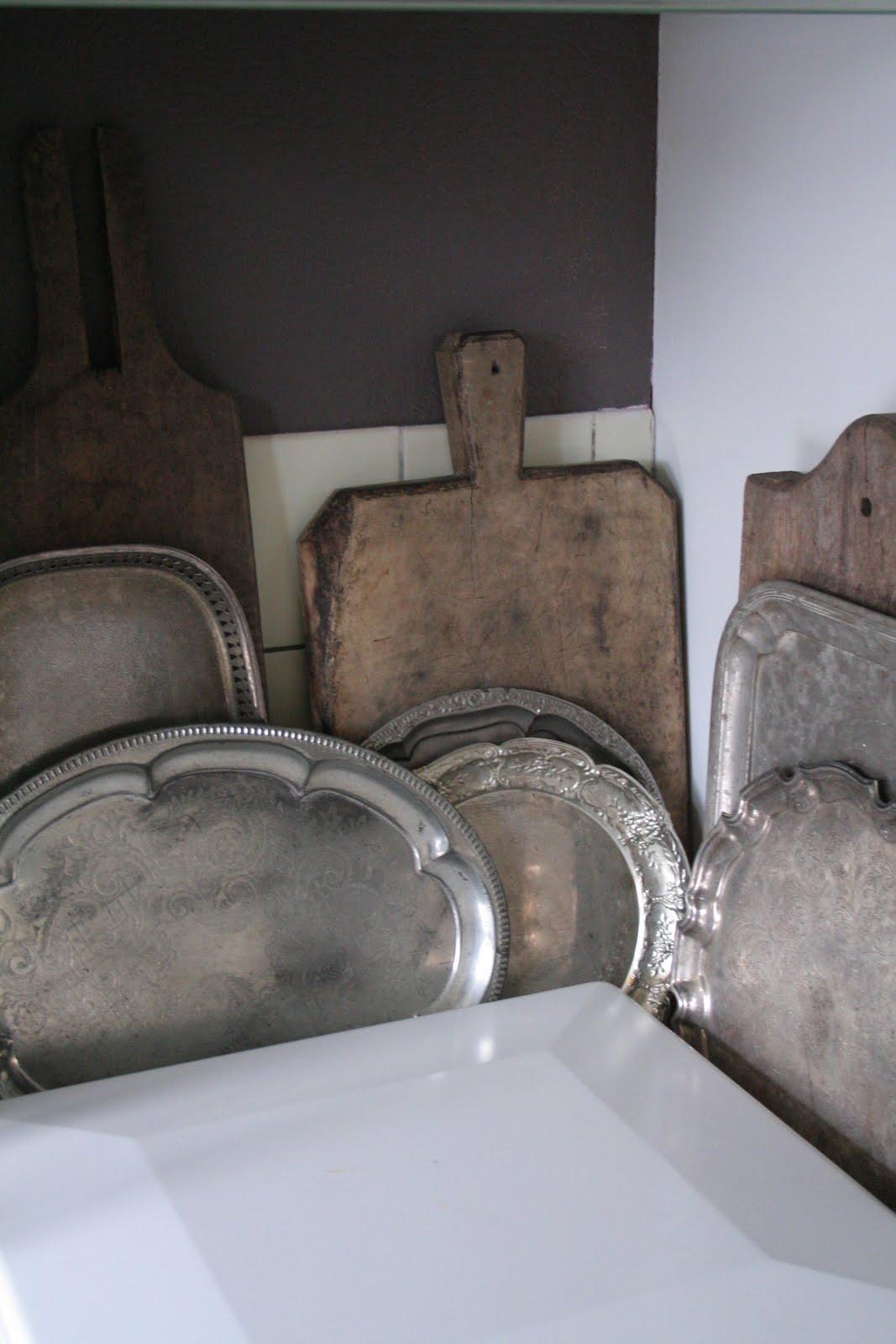 Servies en brocante: onze keuken