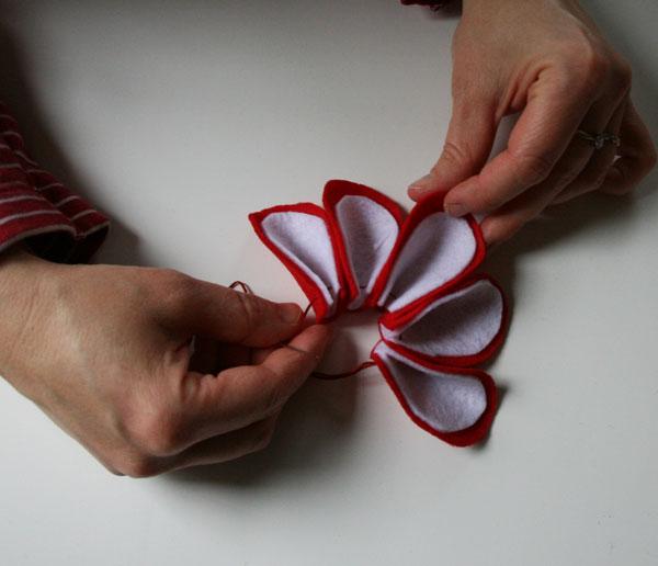 Tchoubi petites histoires cr atives fabriquer votre couronne de no l - Fabrication d une couronne de noel ...