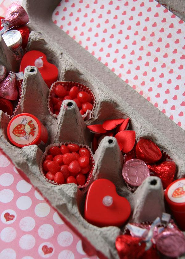 tchoubi petites histoires cr atives boite de mini cupcakes pour la st valentin. Black Bedroom Furniture Sets. Home Design Ideas