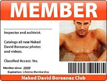 Naked David Boreanaz Club