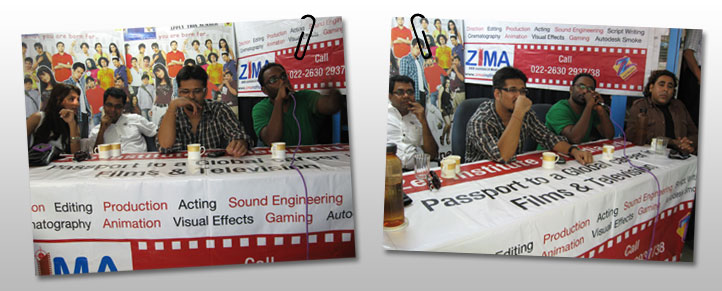 Amit Gaur at the performance show of Pandit Vishwa, Mohan ...