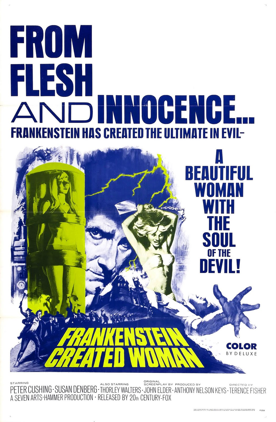 Frankenstein Created Woman Poster But We're British!: Fr...