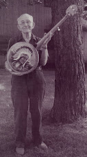 Banjo builder Bob Rock