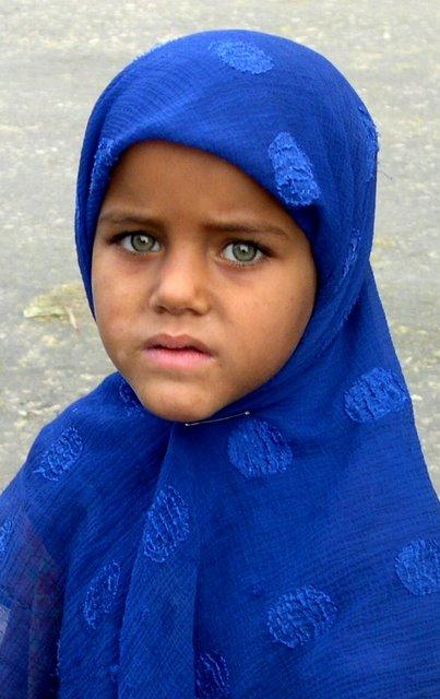 Bonitos ojos verdes. Giza, Egipto. Foto Antony Pastor.