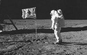 O homem chega a Lua