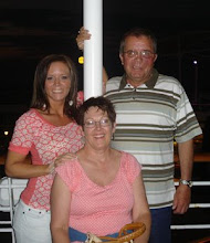 With my mom and Dad on our Cruise to the Bahamas!!!