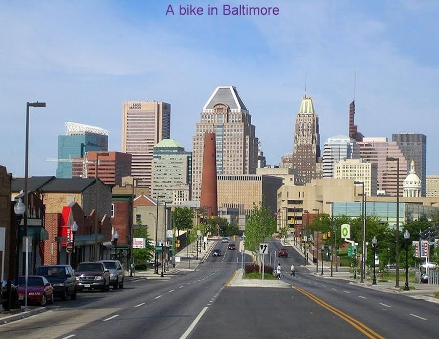 A Bike in Baltimore