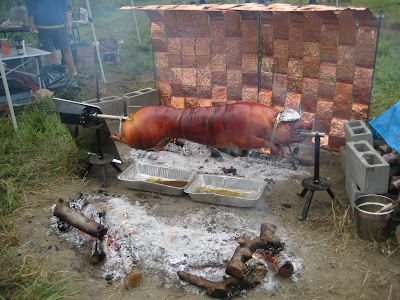 spit roasted pigs stewed goat perfectly charred rotisserie chickens a ...