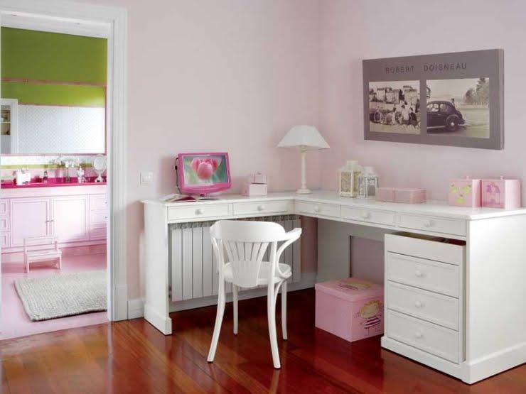 Chicdec una mon sima habitaci n para ni as a super cute - Escritorios de ninas ...