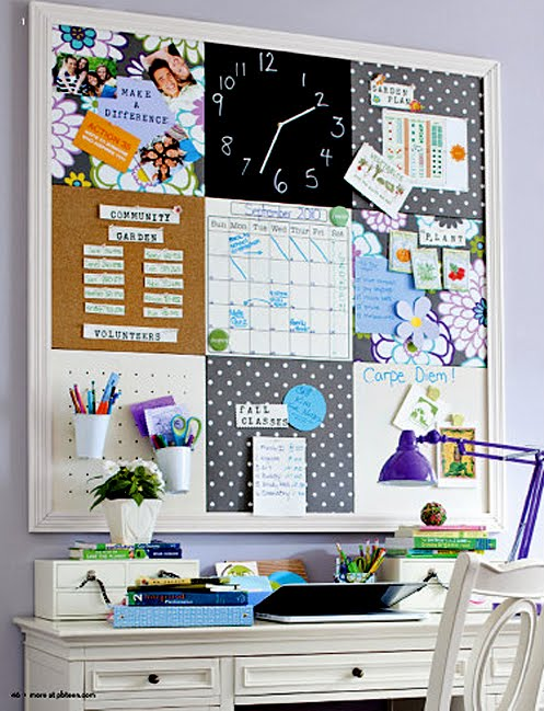 Chicdec un tablero de inspiraci n diy inspiration board - Tablero de corcho ...