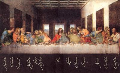 la cena secreta javier sierra: